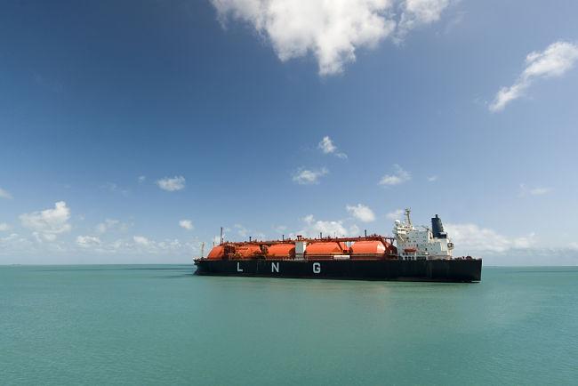 Loď s LNG