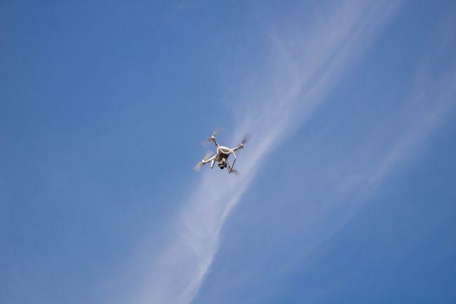 Úniky plynu by v budoucnu mělo být možné detekovat drony.