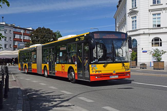 LNG autobus v Polsku.