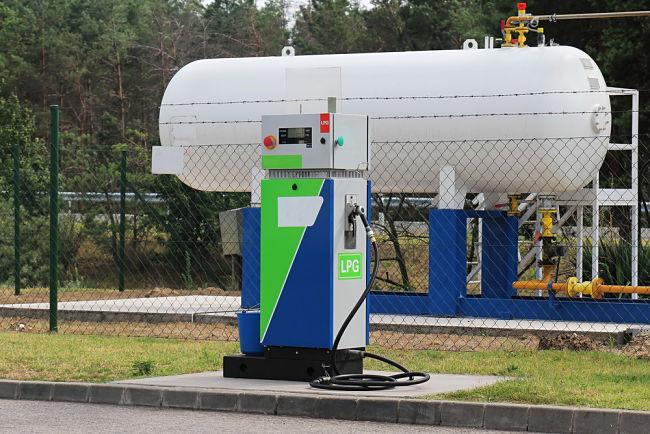 LPG čerpací stanice