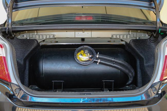 LPG úprava auta
