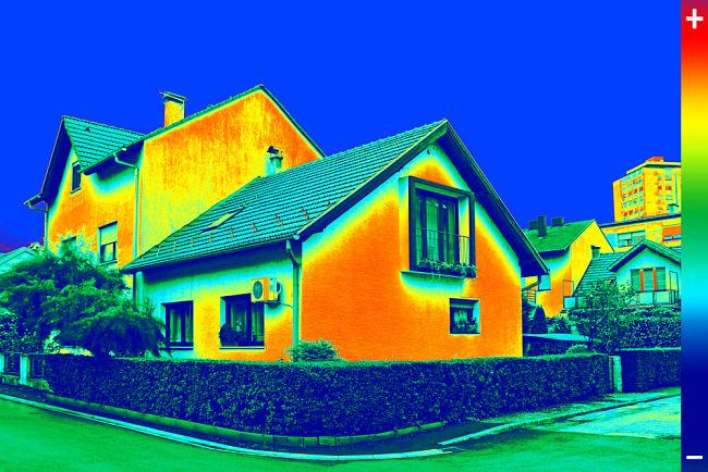 Nezateplený dům