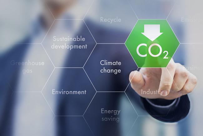 Výhodou plynových elektráren jsou nízké emise CO2.