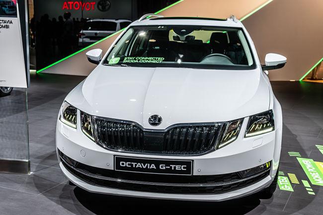 Octavia G-TEC znamenala revoluci u osobních vozidel na CNG