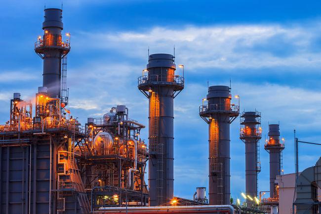 Plynová elektrárna