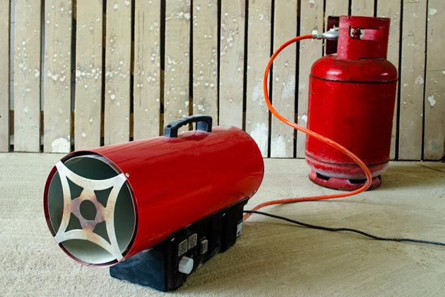Průmyslové plynové topidlo